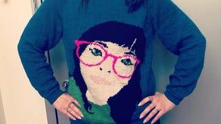 Mad knitting skills