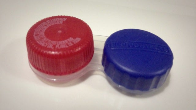 Use a 20 Ounce Soda Cap as an Emergency Contact Lens Case Cap