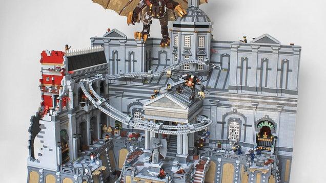 LEGO Bioshock Infinite Diorama Is Simply Massive