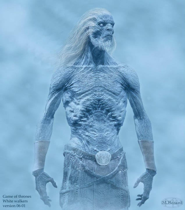 look at the White Walkers