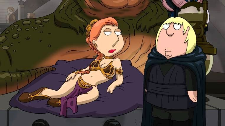 First look at the last Family Guy Star Wars special