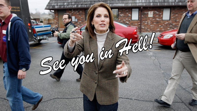 Republican Race Loses Easiest Target as Michele Bachmann Quits