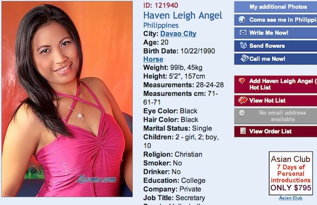nude filipina mail order brides