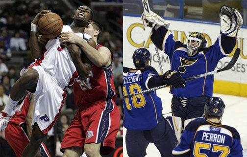 NBA, NHL Out Of Playoff Spots