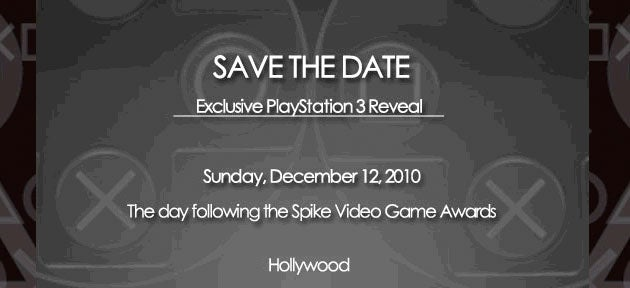 Sony Has 'Exclusive PlayStation 3 Reveal' The Day After Spike VGAs