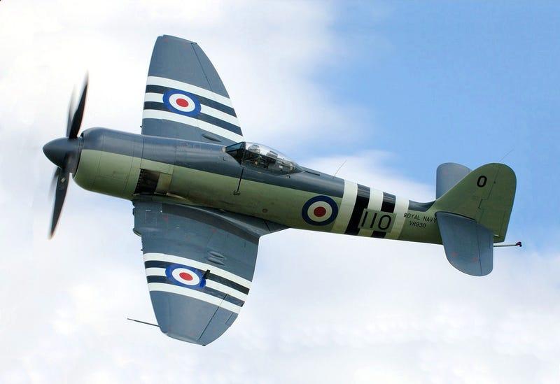 Plane of the Day - Hawker Sea Fury