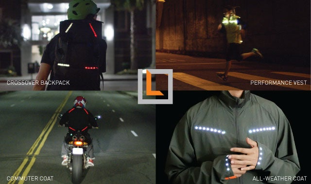 lumenus smart bike jacket