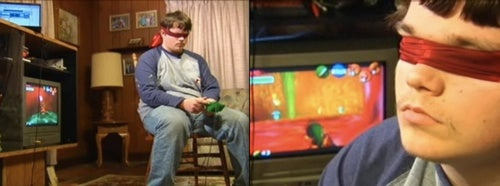 With The Help of Friends, Blind Man Beats Legend of Zelda
