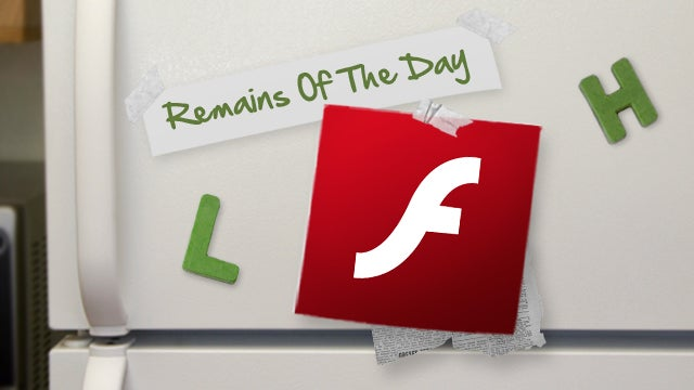 Remains of the Day: Flash Player for Android Will Die Tomorrow