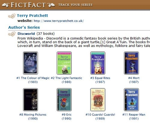 FictFact Is a Book Site for Serial Fiction
