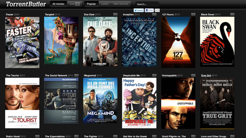 TorrentButler Is a Visual, Movie-Based Torrent Discovery Engine