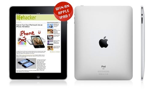 Sign up for the Lifehacker Newsletter, Win an iPad