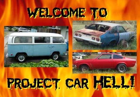 Project Car Hell: Turbo Corvaired Bus or Cosworth + GT Vegas?