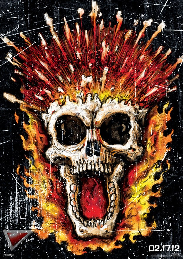 Ghost Rider Posters Gallery