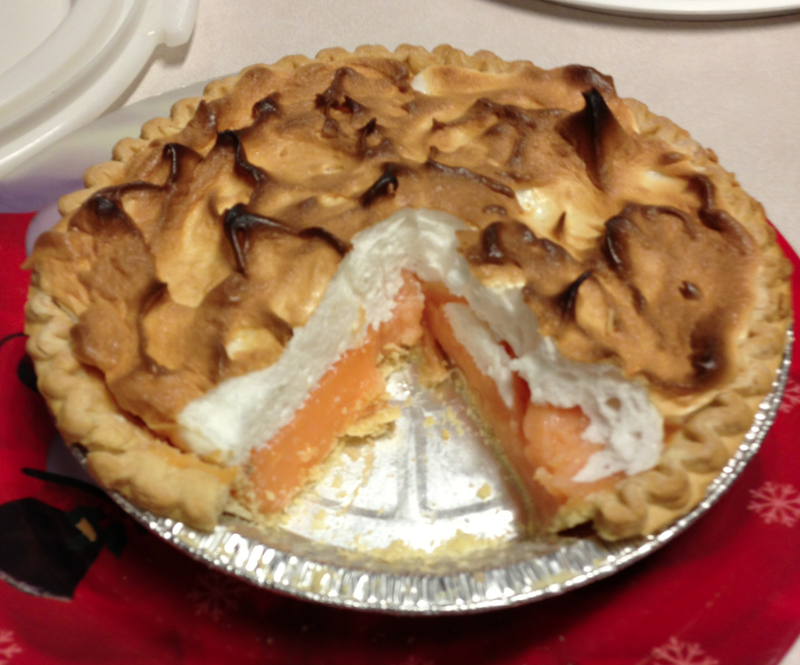 People Are Eating Orange Pie