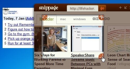 Snippage Makes Desktop Widgets from Any Web Page