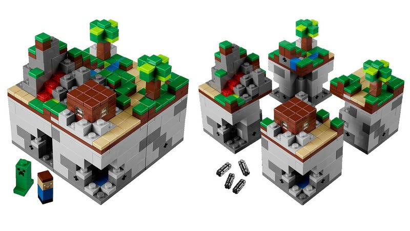 The Official Lego Minecraft Set Is Here