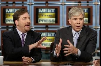 Chuck Todd Is No David Gregory