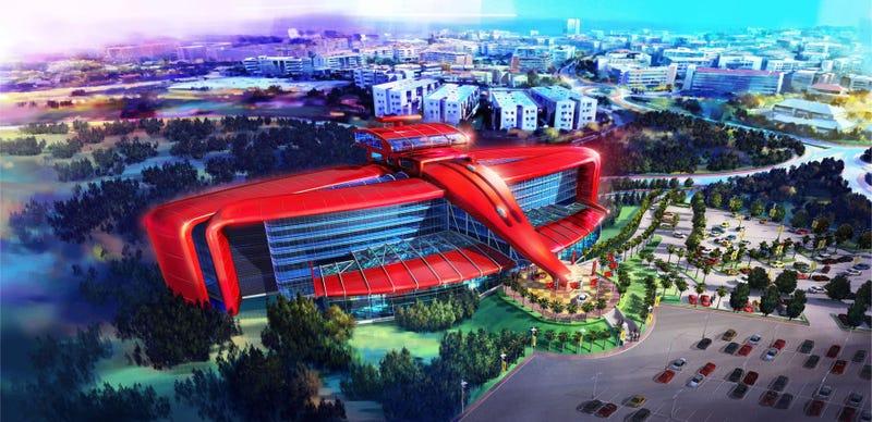 A Gigantic Ferrari Amusement Park Is Coming To Spain