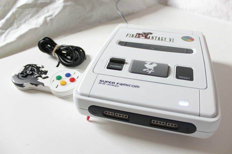 Final Fantasy SNES Console Should Have Been A Real Thing