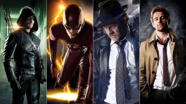 All The Arrow, Flash, Gotham & Constantine News and Trailers