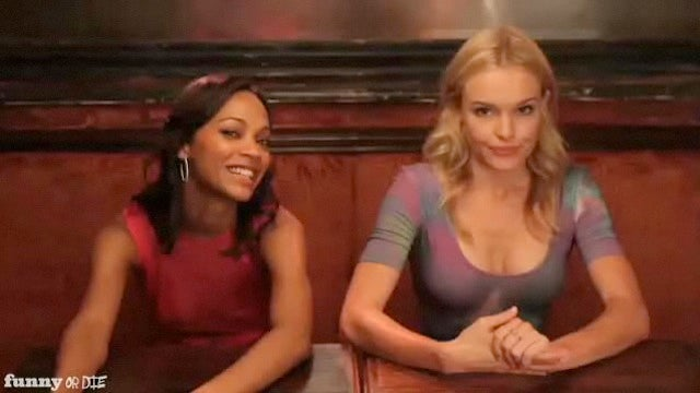 Zoe Saldana and Kate Bosworth Star in Idiots