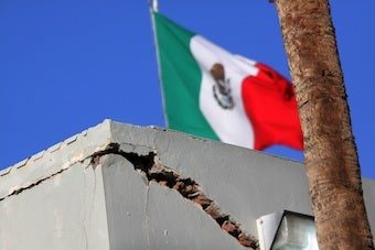 April Earthquake Moved Entire City of Calexico 2.5 Feet South