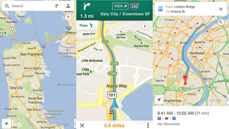 You Can Now Download Google Maps for Your iPhone Again