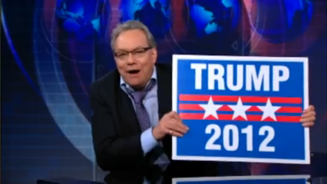 """Lewis Black Endorses Donald Trump in 2012: """"You're Fired, America!"""""""