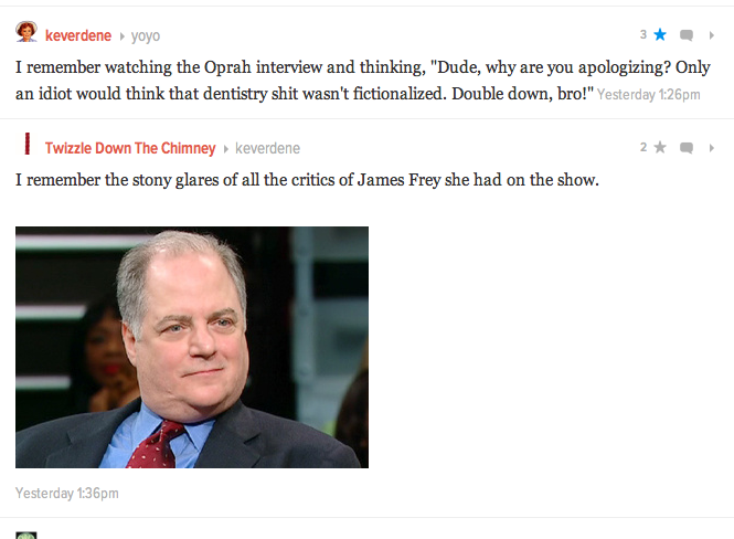 I saw what you did there, Gawker
