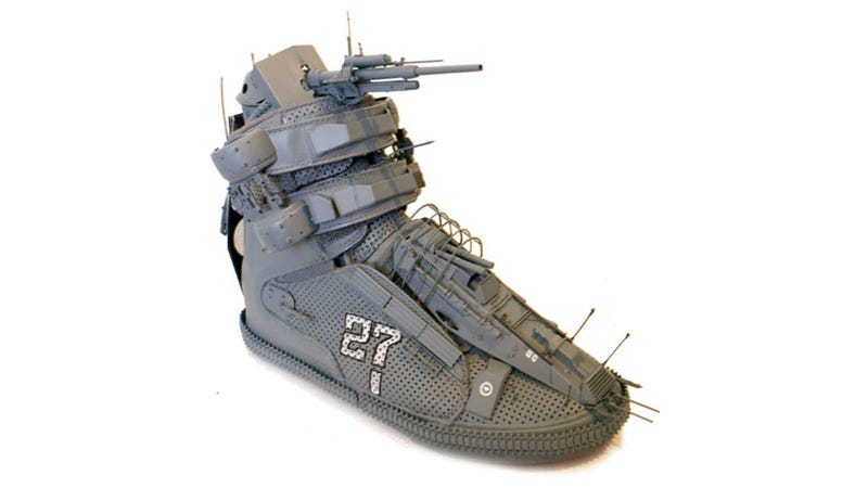 I Wouldn't Want to Be Kicked in the Ass By the Battleshoe
