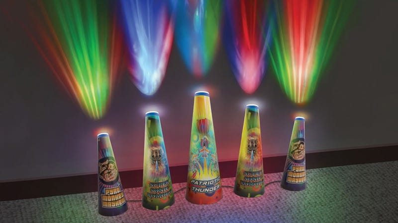Safely Ring In the New Year With an LED Fireworks Extravaganza