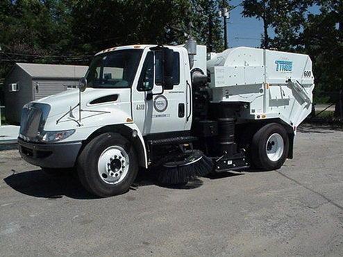 D.C. Street Sweepers Giving Out Parking Tickets