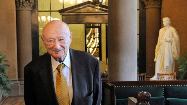 Ed Koch Changes Mind, Decides That Obama Doesn't Hate Jews