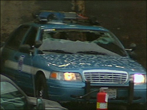 Police Cars Set Ablaze In Seattle