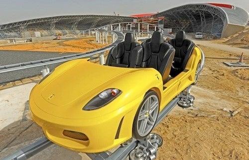 Abu Dhabi's Ferrari World Roller Coasters