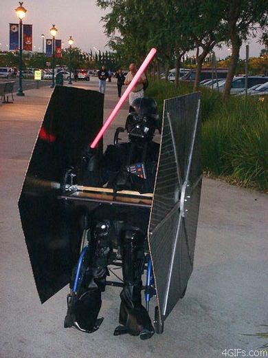 Luke, I Am Your Wheelchair-Bound Father