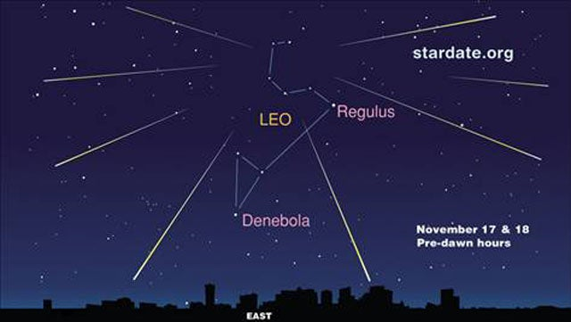 How To Watch Tonight's Leonid Meteor Shower