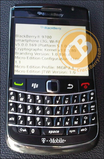 BlackBerry 9700: Hey Tour, Eat Your Heart Out
