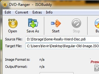 ISOBuddy Converts and Burns Obscure Disc Images