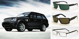 Range Rover Eyewear Is Flat, Boxy