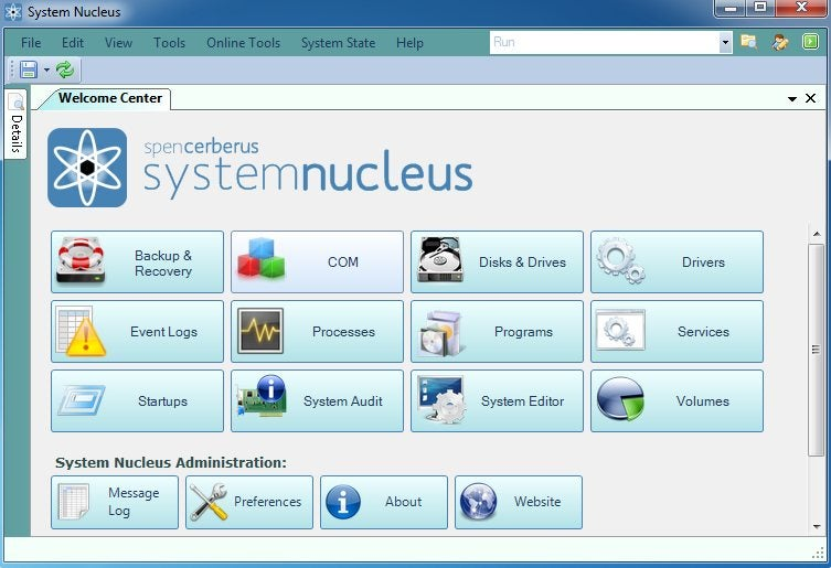 System Nucleus Consolidates Multiple Windows Maintenance Tools