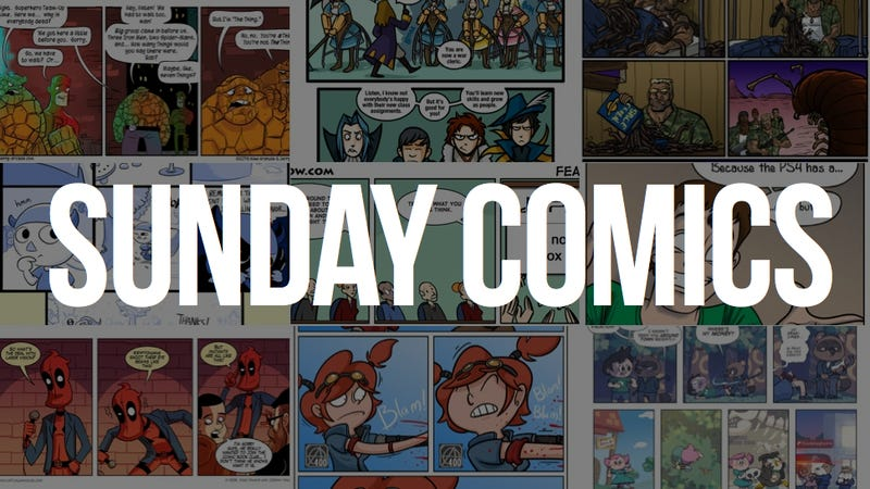 Sunday Comics: The Original Kings of Comics
