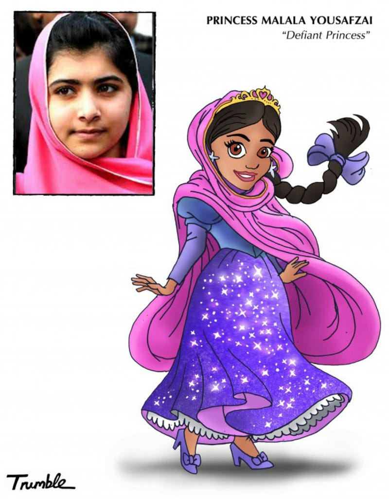 Role Models Re-Imagined As Disney Princesses Will Have You Perplexed