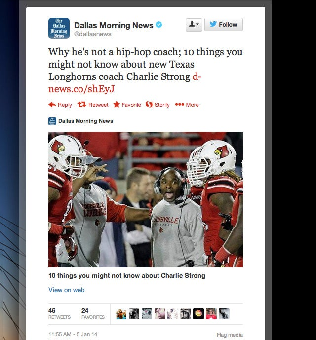 Texas Struggles To Tactfully React To Black Football Coach [UPDATE]