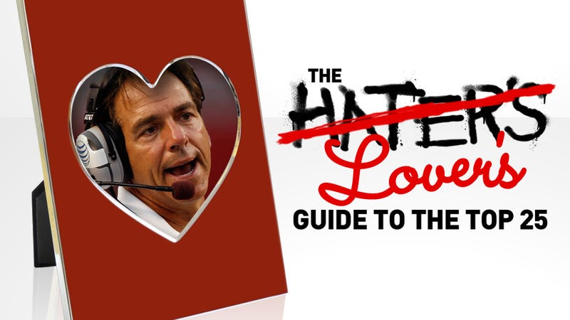 The 2012 Hater's Lover's Guide To The Top 25