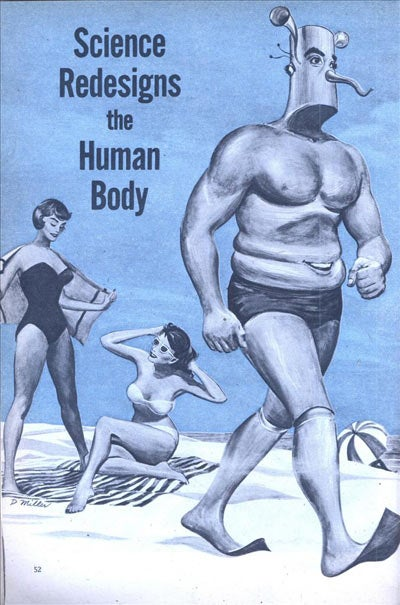 If 1950s Men Redesigned the Human Form, We'd Be Horrors