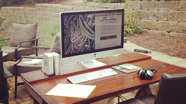 The Great Outdoor Workspace