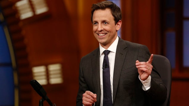 Seth Meyers Will Host the 2014 Emmy Awards