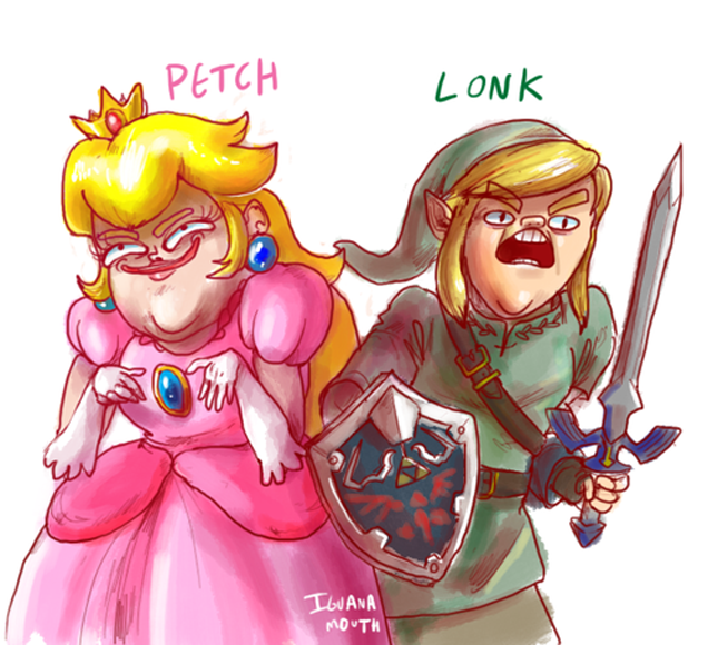 Peach and Link... They've Changed